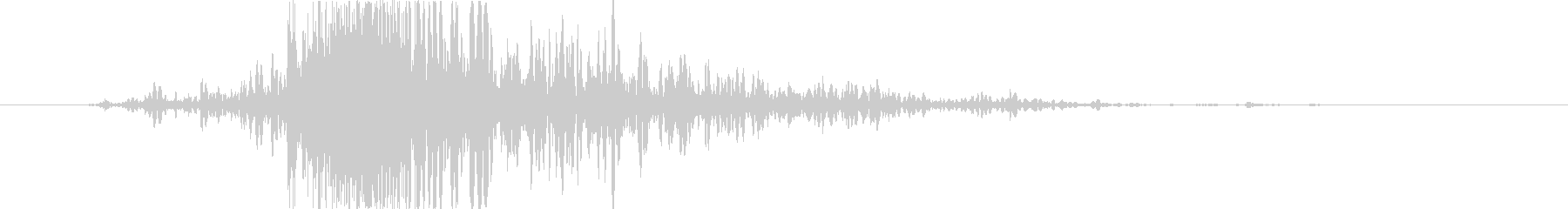 斬撃 ファイヤーイグナイトミディアム01の未再生の波形