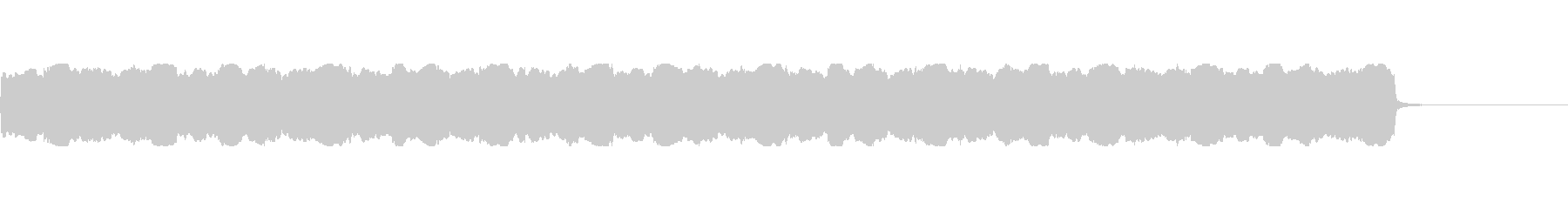 【救急車 サイレン01-1】の未再生の波形