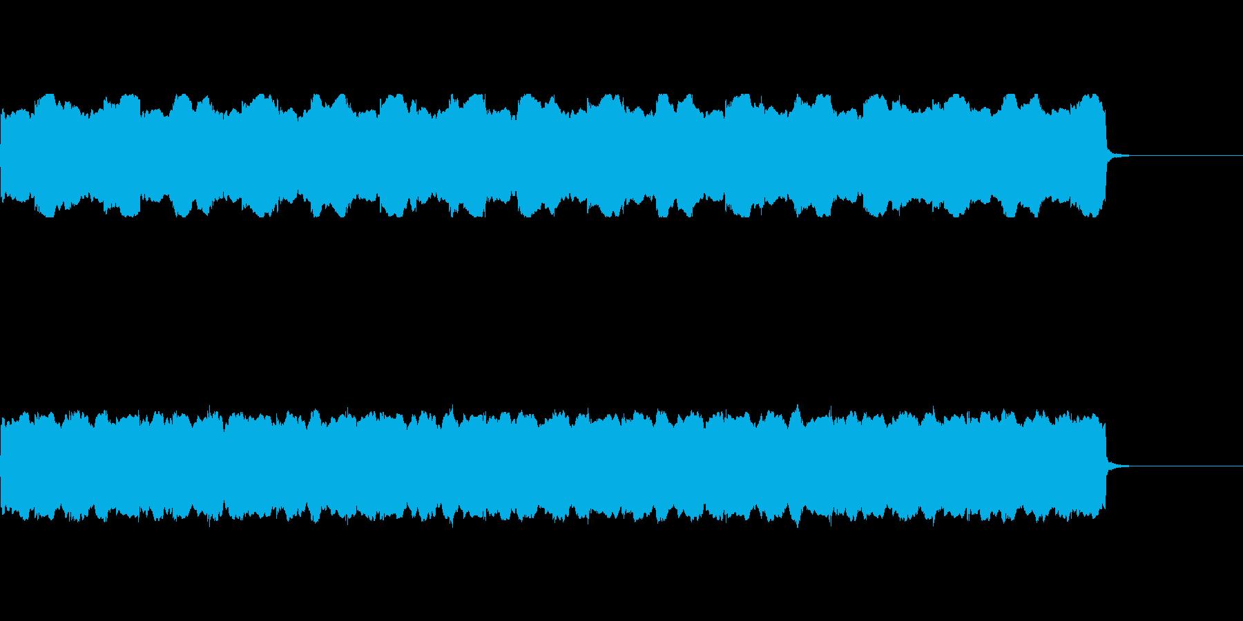 【救急車 サイレン01-1】の再生済みの波形