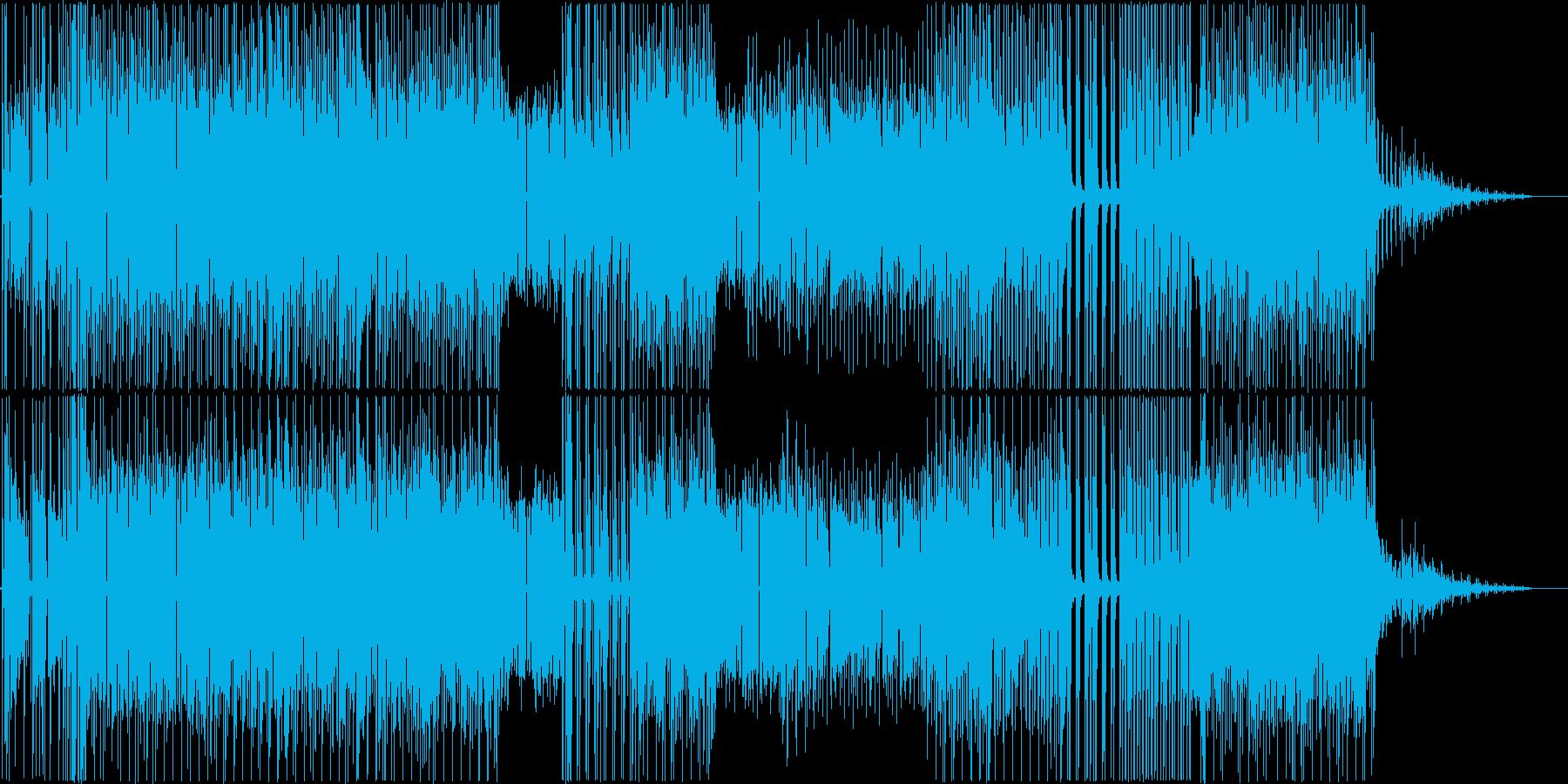 サマーベッドでカクテルでも。なレゲエの再生済みの波形