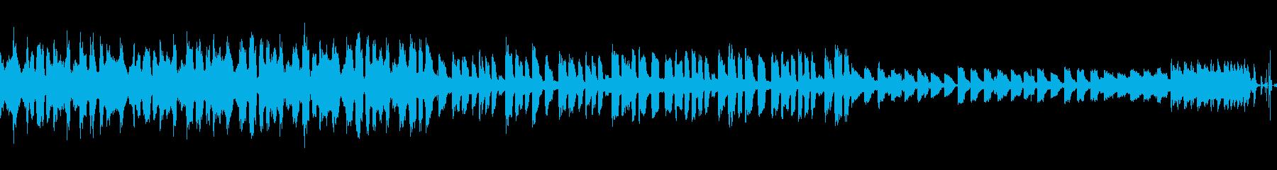 【ループ可】ノリの良いEDMのBGMの再生済みの波形