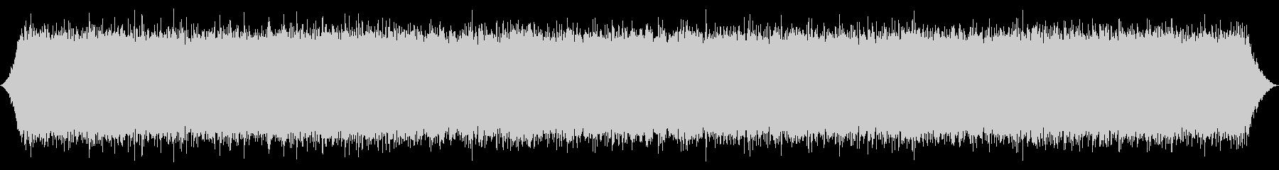River:強力な低音とスプレーの未再生の波形
