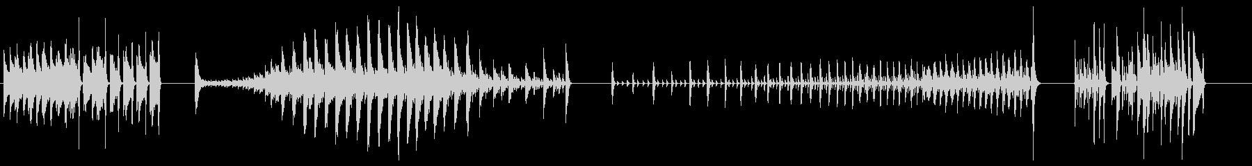 ハイハットプレイ-4エフェクト;さ...の未再生の波形