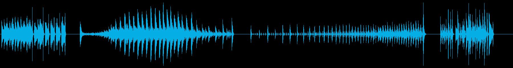 ハイハットプレイ-4エフェクト;さ...の再生済みの波形
