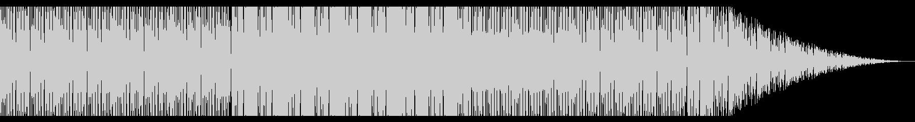 レトロな雰囲気のHipjopの未再生の波形