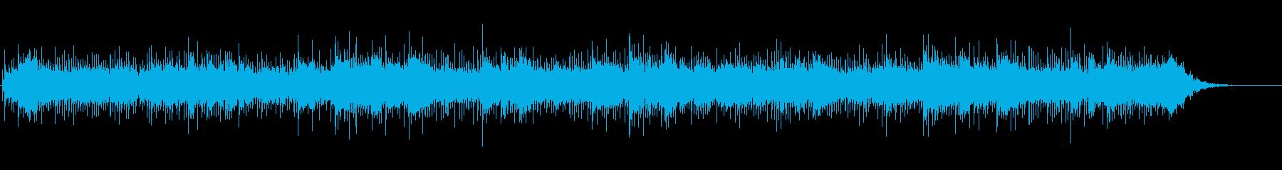 ミニマルでアンビエントなホラージングルの再生済みの波形