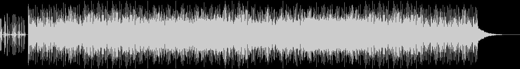 ノリのいいDISCO風レトロエレクトロ曲の未再生の波形