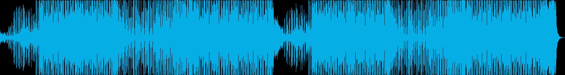 おしゃれ洋楽トラップヒップホップレゲエaの再生済みの波形