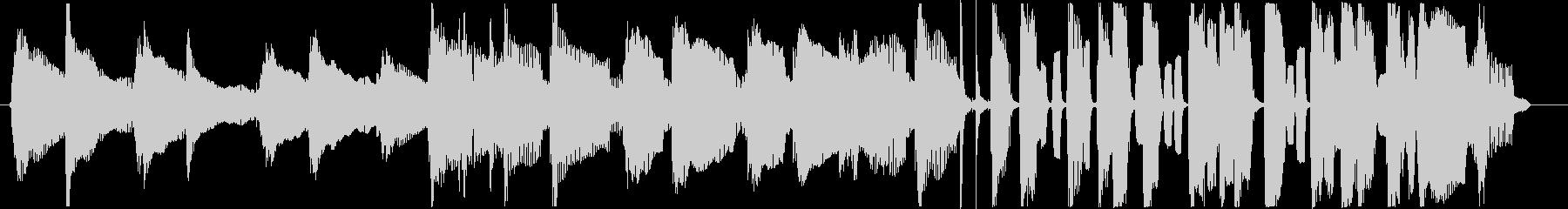 アコギとハーモニカの可愛らしいBGMの未再生の波形