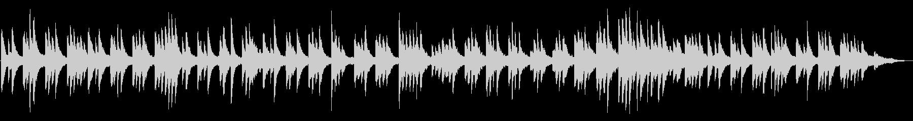 風景動画・ヨガ ヒーリング系ピアノソロの未再生の波形