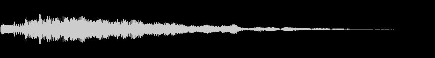 不気味・不穏なフレーズ 通知音・怪談の未再生の波形