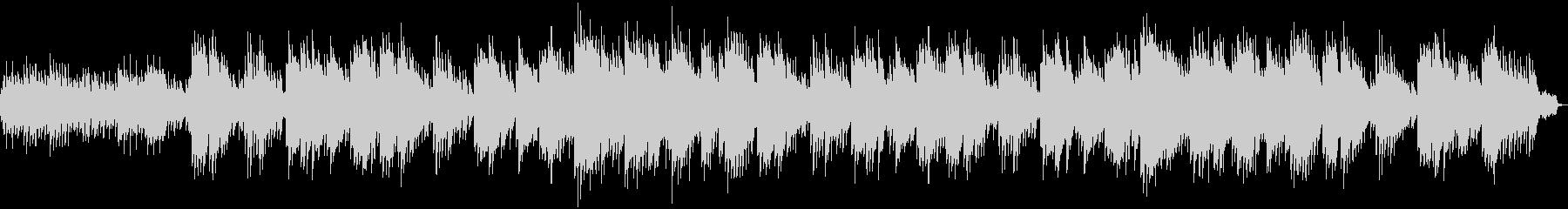ほのぼのする映像に流れるBGMの未再生の波形