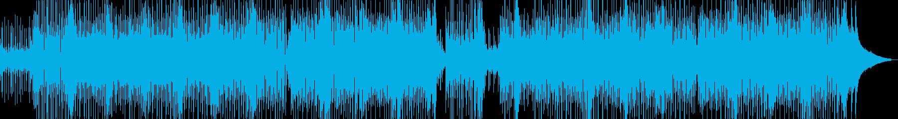 アワ風呂のようなフワモコテクノ Bの再生済みの波形
