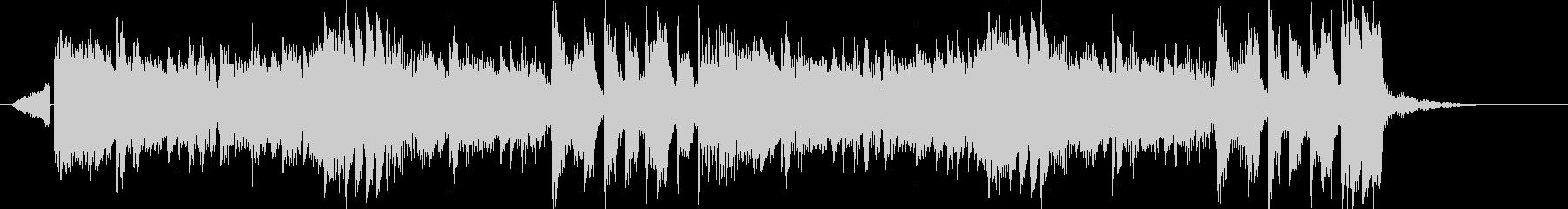 シンセベース電子系リズムのEDMジングルの未再生の波形