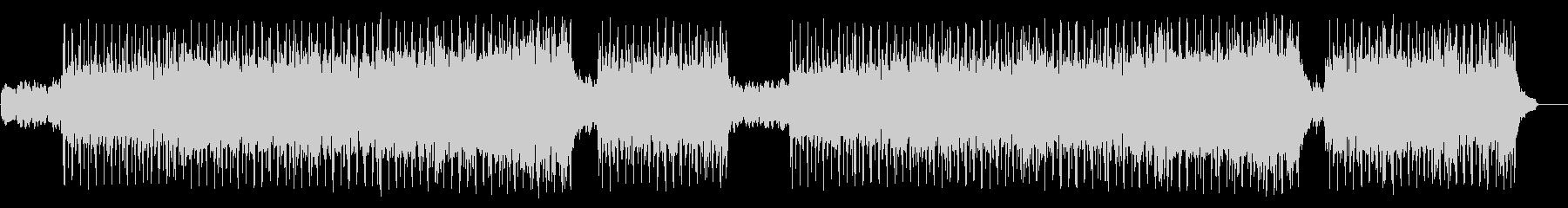 軽快なフュージョン(フルサイズ)の未再生の波形