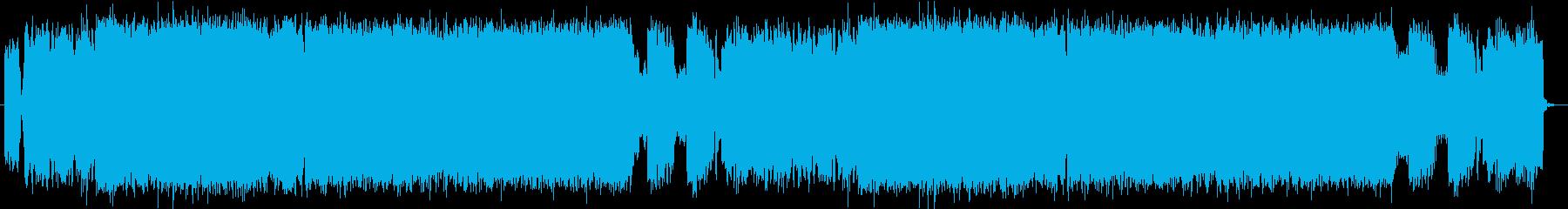 バトル風 ヘビーメタル03の再生済みの波形