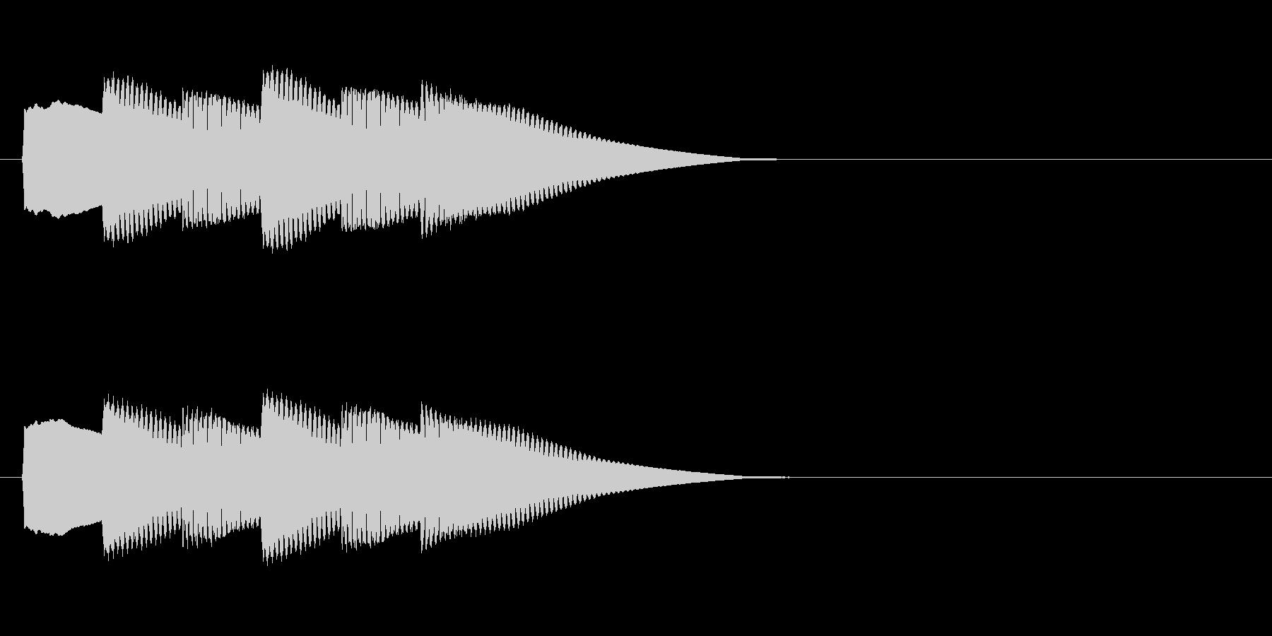 【正解02-3】の未再生の波形