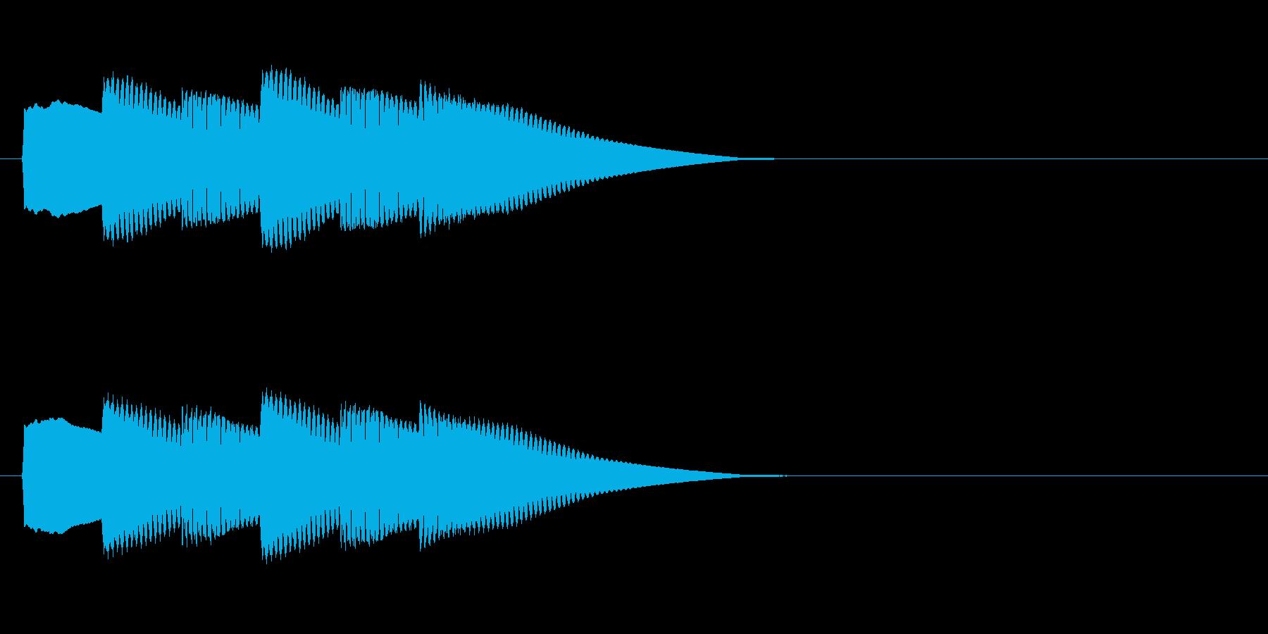 【正解02-3】の再生済みの波形