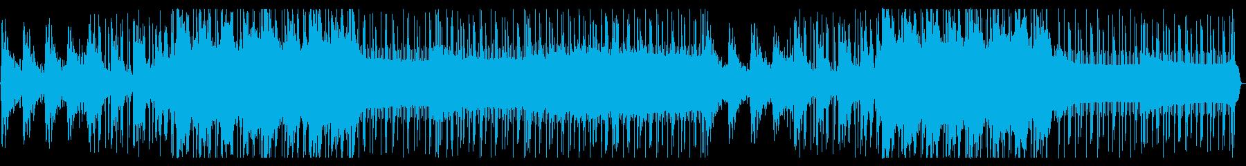宇宙感あるLofi Hip Hopの再生済みの波形