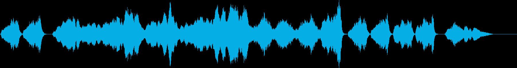 オーケストラ 悲しみにくれる曲 弦のみの再生済みの波形