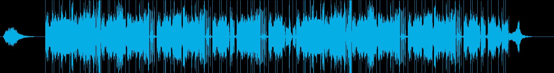 クールインパクトの再生済みの波形
