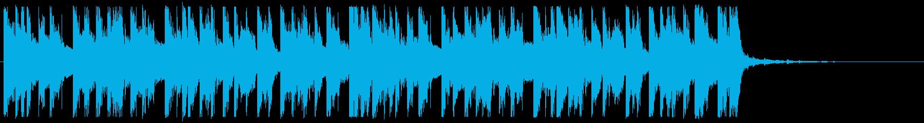 前向き/明るい/ハウス_No475_4の再生済みの波形