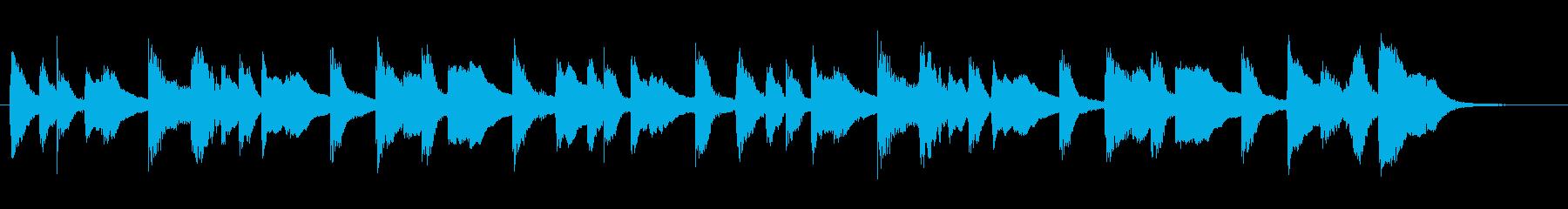 ★ジングル★軽快でかわいいピアノの再生済みの波形