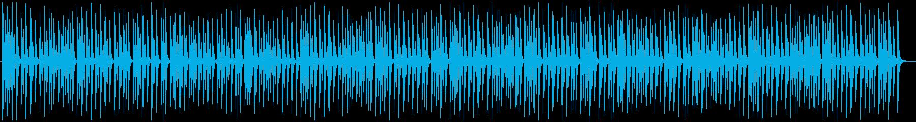 可愛らしくほのぼのした日常のピアノの再生済みの波形