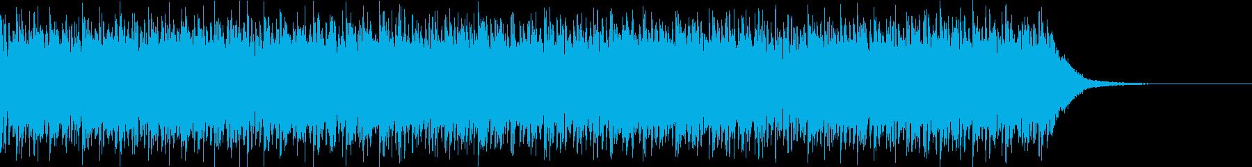 Techno CMの再生済みの波形