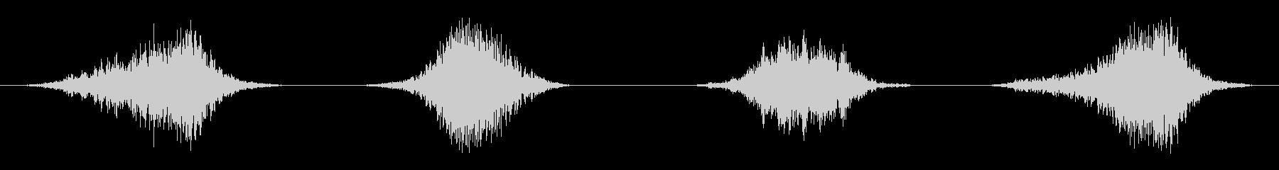 ビッグ、ヘビーロックスウッシュバイスの未再生の波形