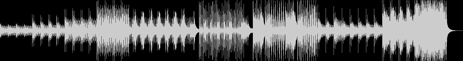 物語の始まりをイメージしたピアノインストの未再生の波形