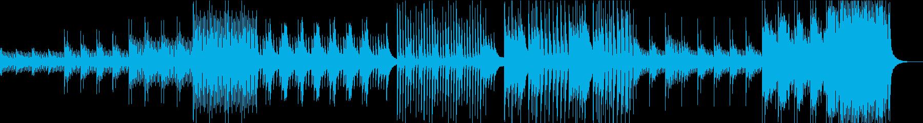 物語の始まりをイメージしたピアノインストの再生済みの波形