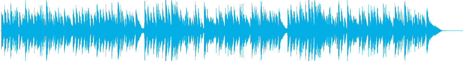 バッハ/メヌエット1/へたっぴバイオリンの再生済みの波形