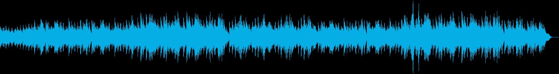 ピアノとストリングスの壮大なバラードの再生済みの波形