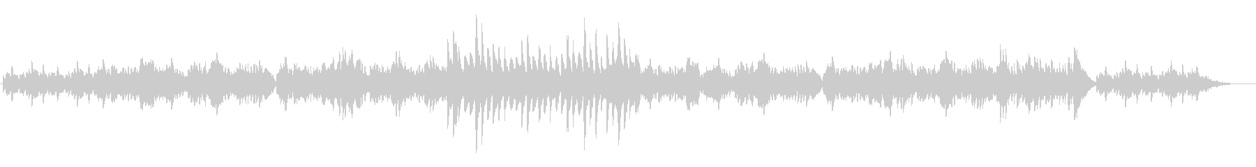 静かで穏やかなFl.Harp二重奏の未再生の波形