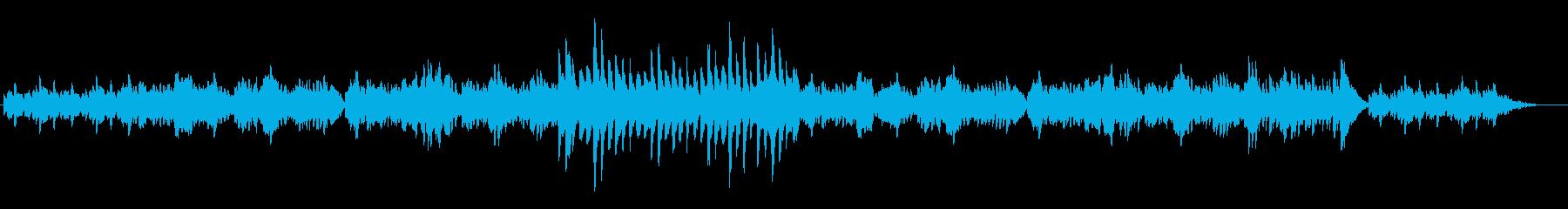 静かで穏やかなFl.Harp二重奏の再生済みの波形
