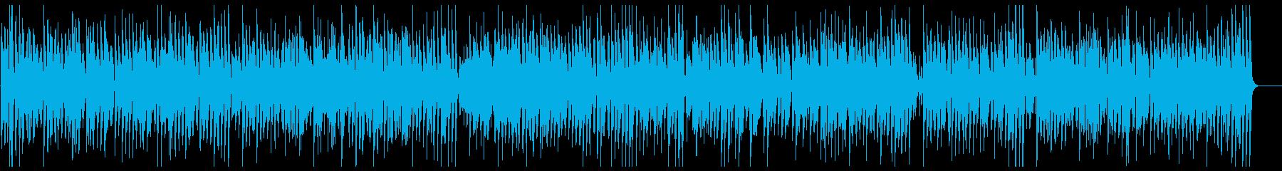 やさしくて爽やかなピアノメロディーの再生済みの波形