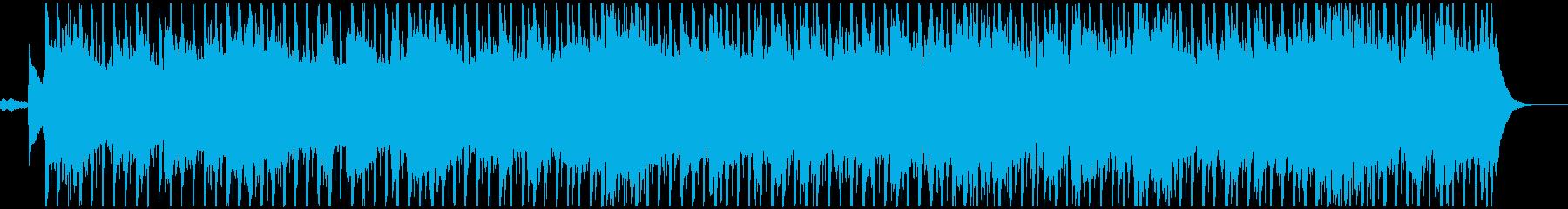 切なく甘いゆったりめの4つ打ちR&Bの再生済みの波形