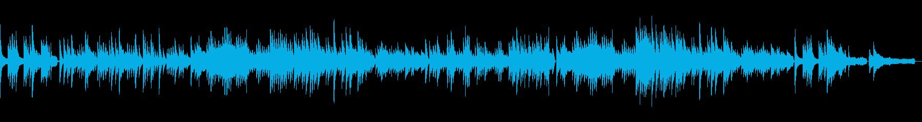 ピアノでオシャレに 別れの曲・ショパン3の再生済みの波形