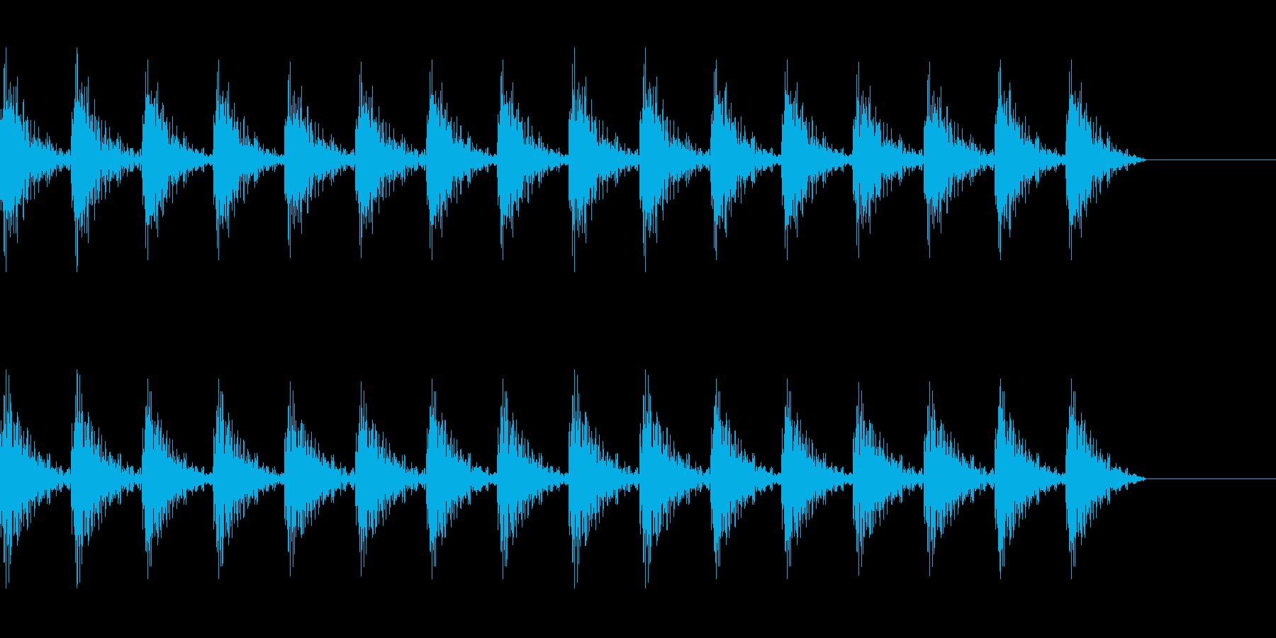 どんどん(巨人、速歩き)A15の再生済みの波形