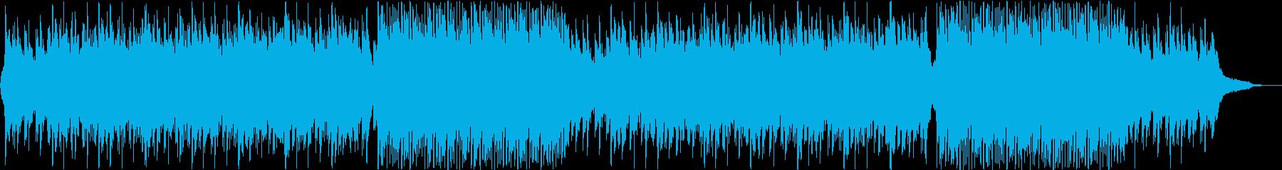 明るく爽やかなコーポレート向けBGMの再生済みの波形