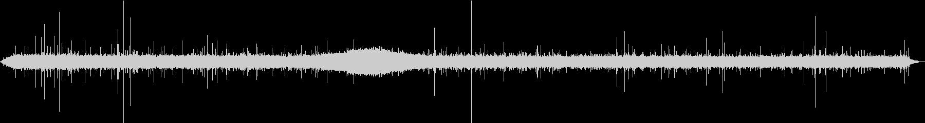 【生録音】美しい雨の音 4の未再生の波形