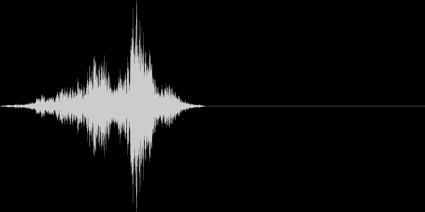 金属音 キーッの未再生の波形