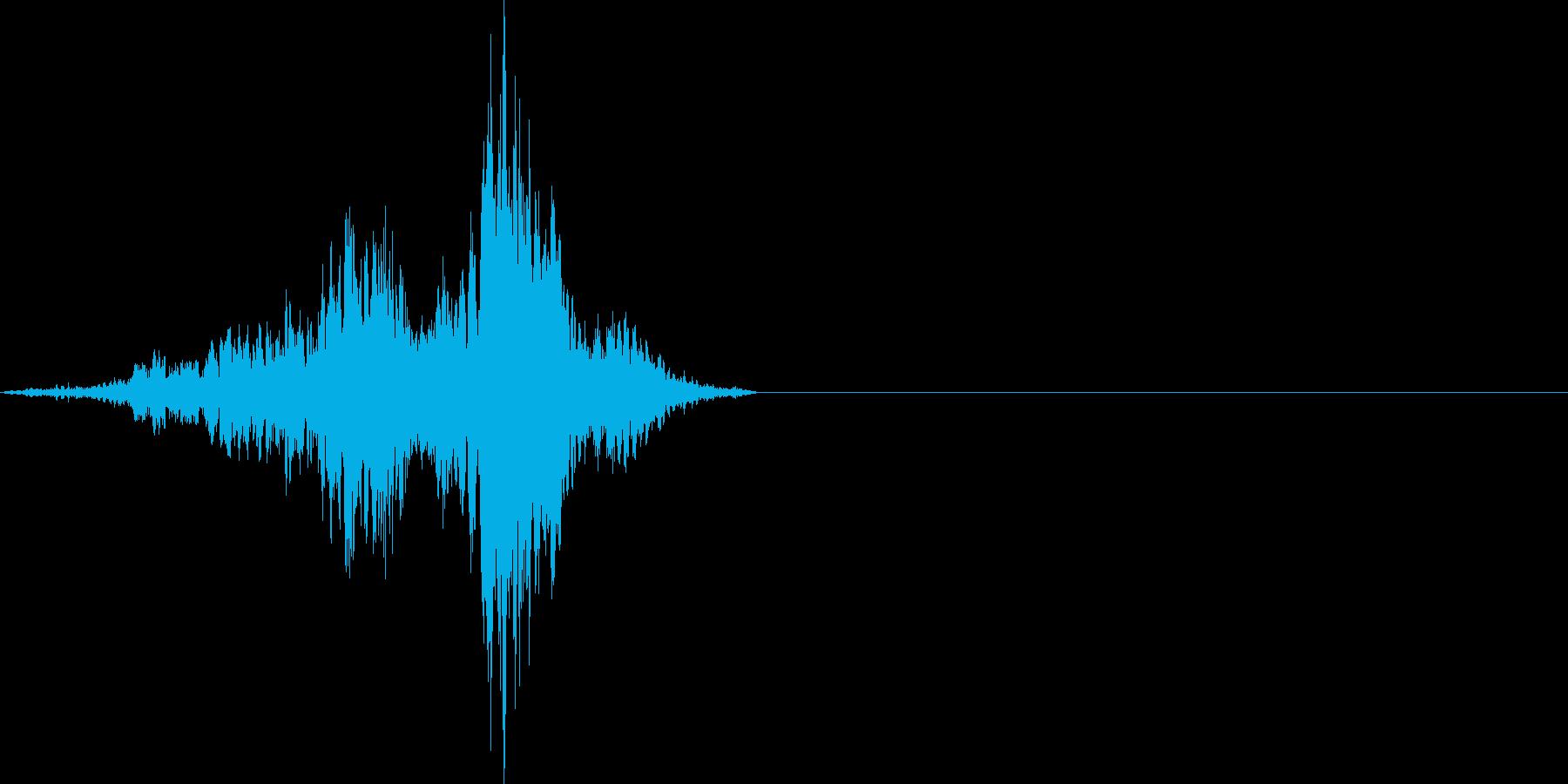 金属音 キーッの再生済みの波形