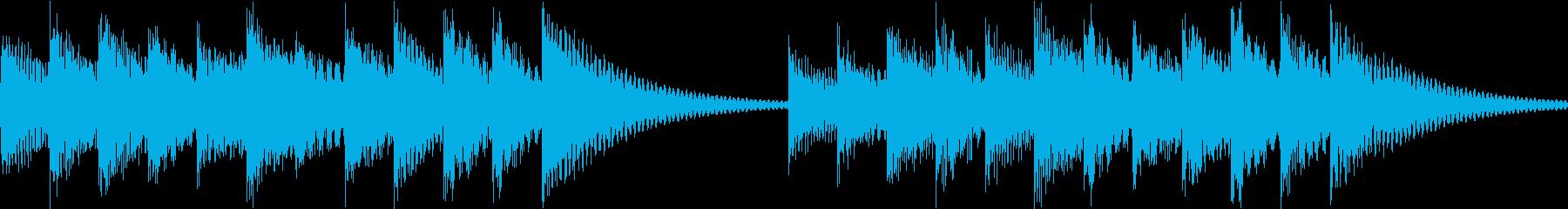 シンプルベル お知らせ ハテナ ? 06の再生済みの波形