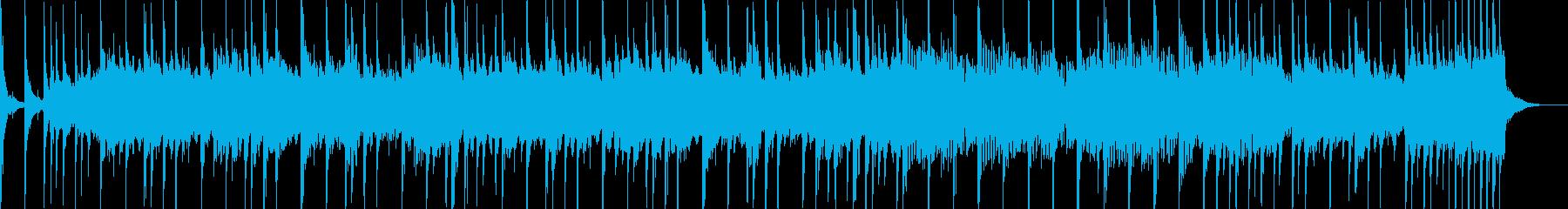 夏・スタイリッシュ・SNS広告・30秒の再生済みの波形