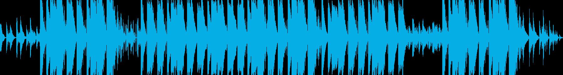 チルなベルサウンドのエモトラップの再生済みの波形