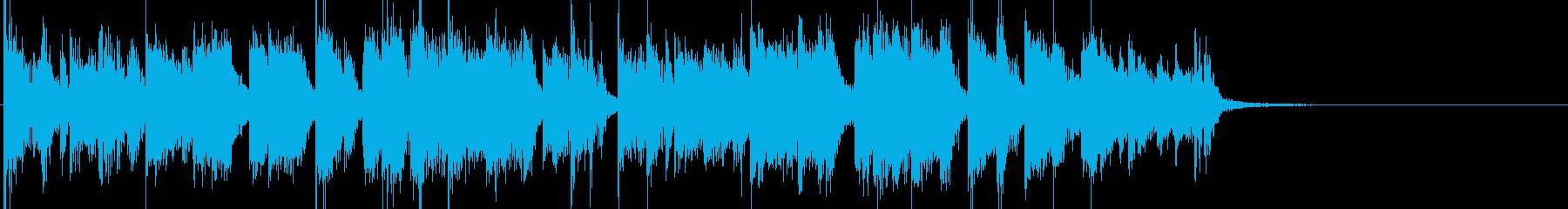 大都会夜景のファンキーサウンドの再生済みの波形
