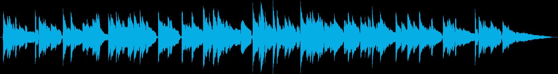 優しく切ないクリーンギターのバラードの再生済みの波形