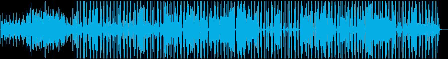 クールでジャジーなシティポップ風ビートの再生済みの波形